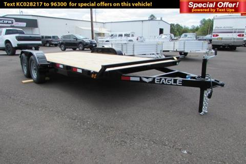 2019 EAGLE TRAILER 7X16 Flatbed 7K for sale in Albany, OR