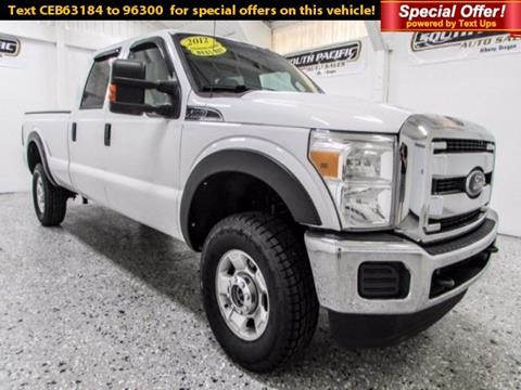 2012 Ford F-350 Super Duty for sale in Albany, OR