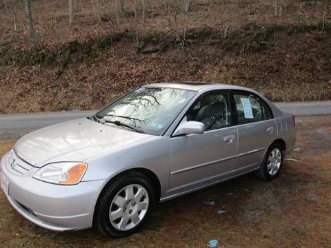 2002 Honda Civic EX for sale at W.R. Barnhart Auto Sales in Altoona PA