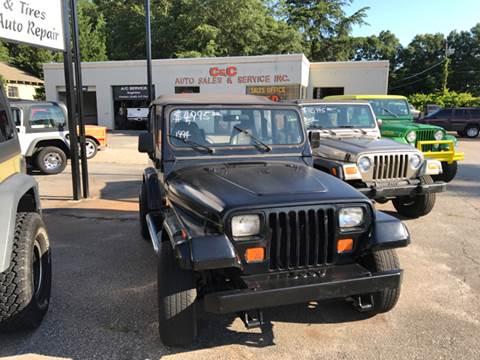 1994 Jeep Wrangler for sale in Lyman, SC
