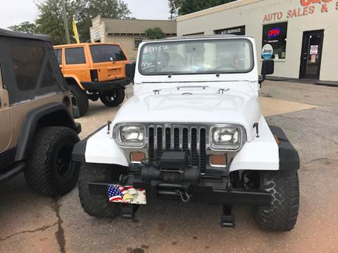 1990 Jeep Wrangler for sale in Lyman, SC
