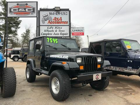 1987 Jeep Wrangler for sale in Lyman, SC