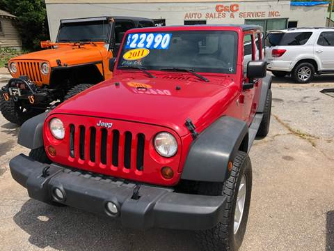 2011 Jeep Wrangler Unlimited for sale in Lyman, SC