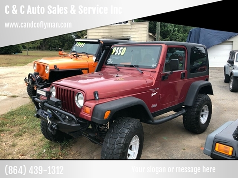 1998 Jeep Wrangler for sale in Lyman, SC
