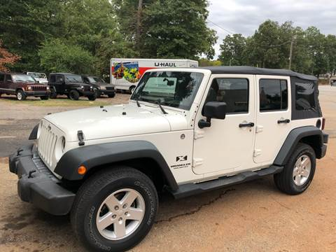 2008 Jeep Wrangler Unlimited for sale in Lyman, SC