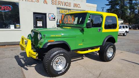1982 Jeep CJ-7 for sale in Lyman, SC