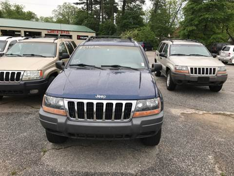 2001 Jeep Grand Cherokee for sale in Lyman, SC