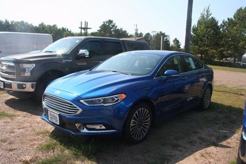 2017 Ford Fusion for sale in Phillips, WI
