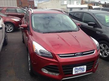 2014 Ford Escape for sale in Phillips, WI