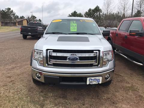 2014 Ford F-150 for sale in Phillips, WI