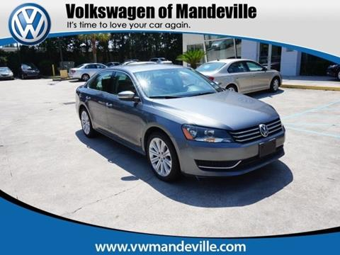 2013 Volkswagen Passat for sale in Mandeville, LA
