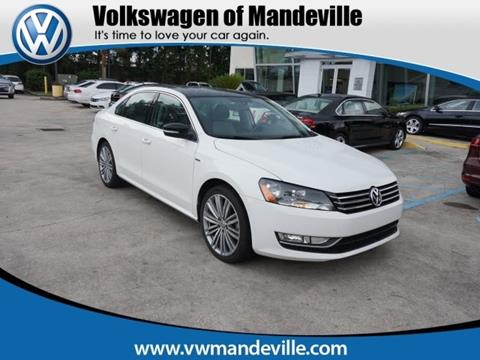 2014 Volkswagen Passat for sale in Mandeville, LA