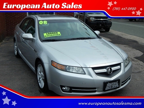 2008 Acura TL for sale in Whitman, MA