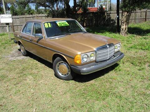 1981 Mercedes-Benz 300-Class for sale in Tampa, FL