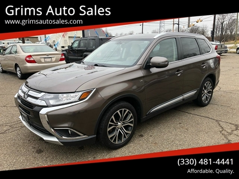 2016 Mitsubishi Outlander GT for sale at Grims Auto Sales in North Lawrence OH