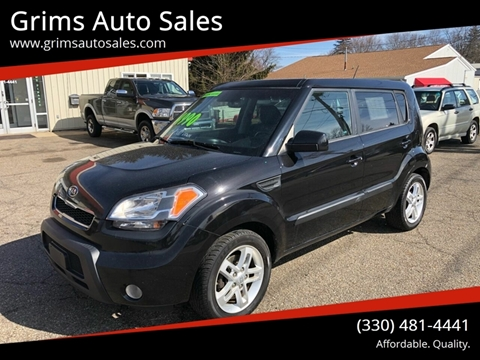2011 Kia Soul + for sale at Grims Auto Sales in North Lawrence OH