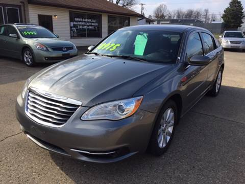 2012 Chrysler 200 for sale in Massillon, OH