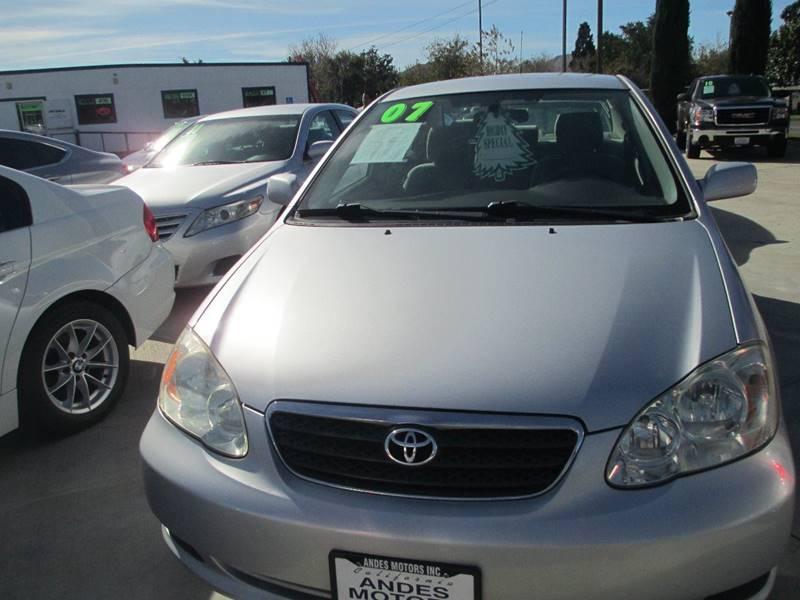 2007 Toyota Corolla LE 4dr Sedan (1.8L I4 4A)   Bloomington CA