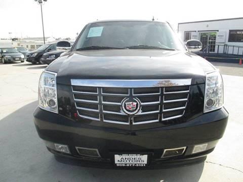 2009 Cadillac Escalade ESV for sale in Bloomington, CA