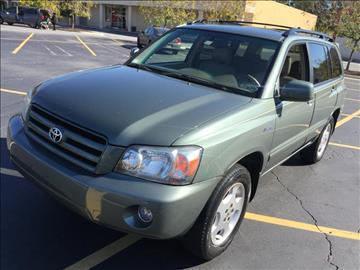 2004 Toyota Highlander for sale in Marietta, GA