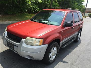 2001 Ford Escape & Ford Used Cars For Sale Marietta North Point International markmcfarlin.com