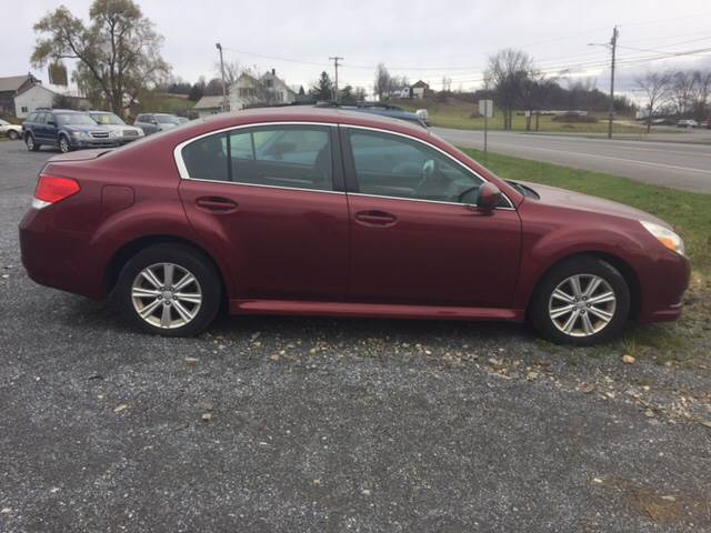 RPMWired.com car search / 2011 Subaru Legacy 2.5i Premium AWD 4dr Sedan 6M / Junction Auto Center / New Haven / VT / 05472