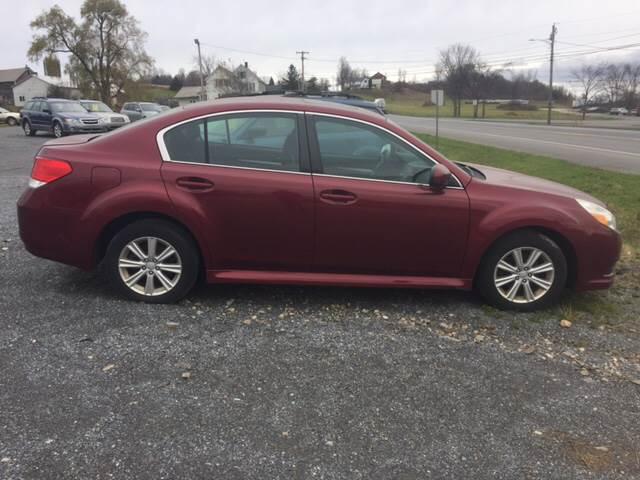 RPMWired.com car search / 2011 Subaru Legacy 2.5i Premium AWD 4dr Sedan 6M / Junction Auto Center / New Haven / VT / 05472