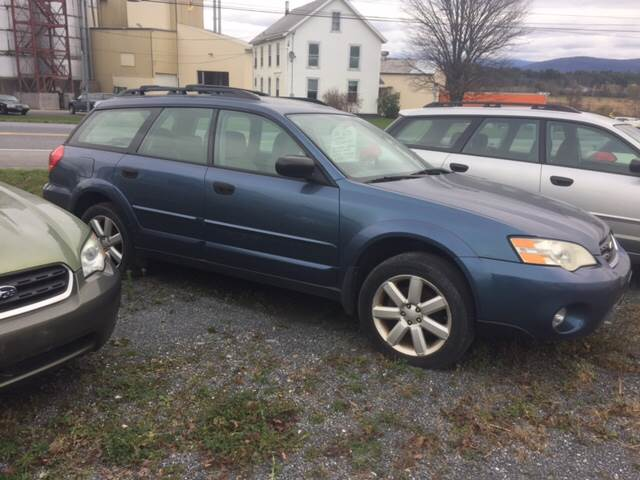 RPMWired.com car search / 2006 Subaru Outback 2.5i AWD 4dr Wagon w/Manual / Junction Auto Center / New Haven / VT / 05472