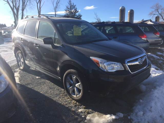 RPMWired.com car search / 2016 Subaru Forester 2.5i Limited AWD 4dr Wagon / Junction Auto Center / New Haven / VT / 05472