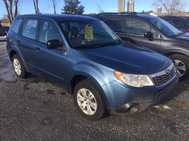RPMWired.com car search / 2010 Subaru Forester 2.5X AWD 4dr Wagon 4A / Junction Auto Center / New Haven / VT / 05472
