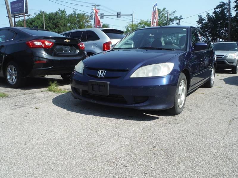 2005 Honda Civic DX 4dr Sedan   Cleveland OH