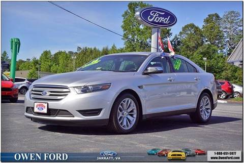 2016 Ford Taurus for sale in Emporia, VA