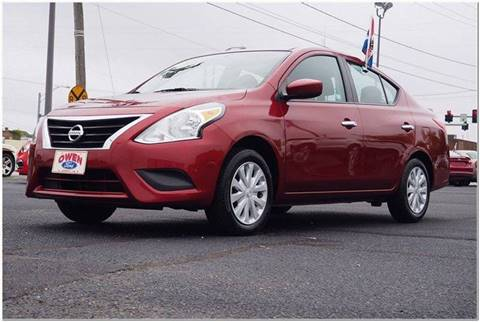 2016 Nissan Versa for sale in Emporia, VA
