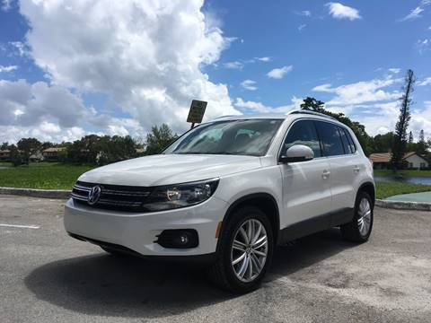 2014 Volkswagen Tiguan for sale at Got Car Auto in Hollywood FL