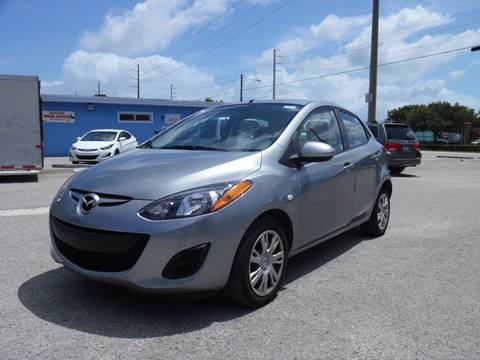 2014 Mazda MAZDA2 for sale in Hollywood, FL