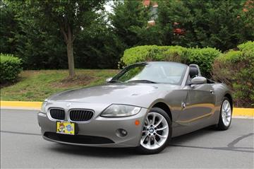 2005 BMW Z4 for sale at Quality Auto in Sterling VA