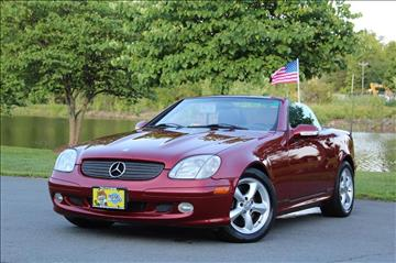 2002 Mercedes-Benz SLK for sale at Quality Auto in Sterling VA