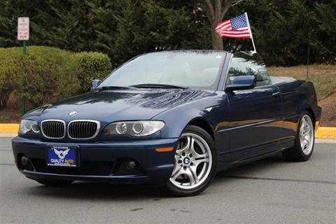 BMW Series For Sale Carsforsalecom - Bmw 2005 convertible