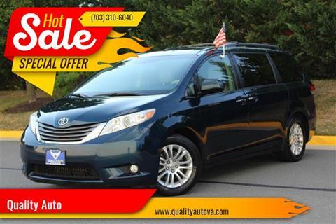 Minivan For Sale >> Minivan For Sale In Sterling Va Quality Auto