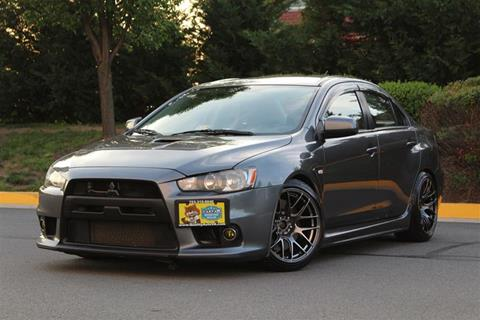 2008 Mitsubishi Lancer Evolution for sale in Sterling, VA
