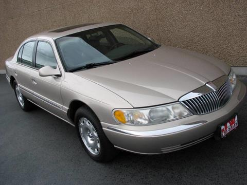 1998 Lincoln Continental for sale in Ogden, UT