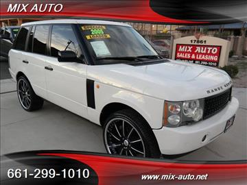 2005 Land Rover Range Rover for sale in Canyon Country, CA