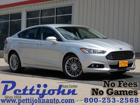 2014 Ford Fusion for sale in Bethany, MO