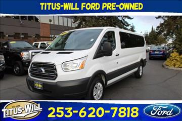 2016 Ford Transit Wagon for sale in Tacoma, WA
