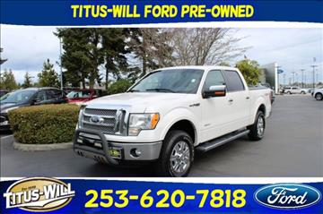 2011 Ford F-150 for sale in Tacoma, WA