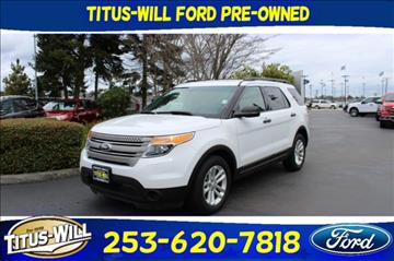 2015 Ford Explorer for sale in Tacoma, WA