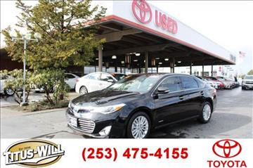 2015 Toyota Avalon Hybrid for sale in Tacoma, WA
