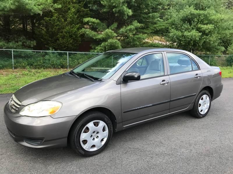 2003 Toyota Corolla CE 4dr Sedan   Kingston MA