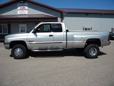 2001 Dodge Ram Pickup 3500 for sale in Hayward, MN