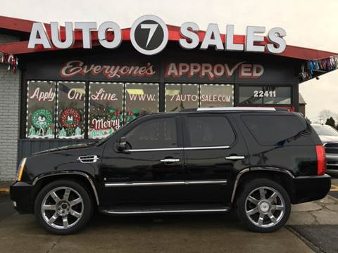 2009 Cadillac Escalade for sale in Hazel Park, MI